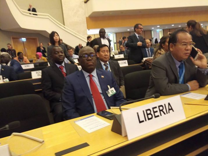 At UNHCR General Assembly; Internal Affairs Minister Sirleaf pushes Liberia's case for more support to Refugee situations